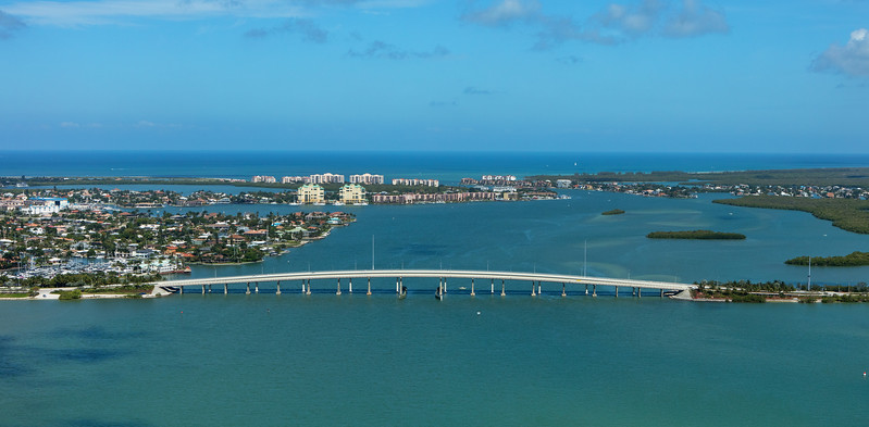 Marco Island Bridge Aerial 3