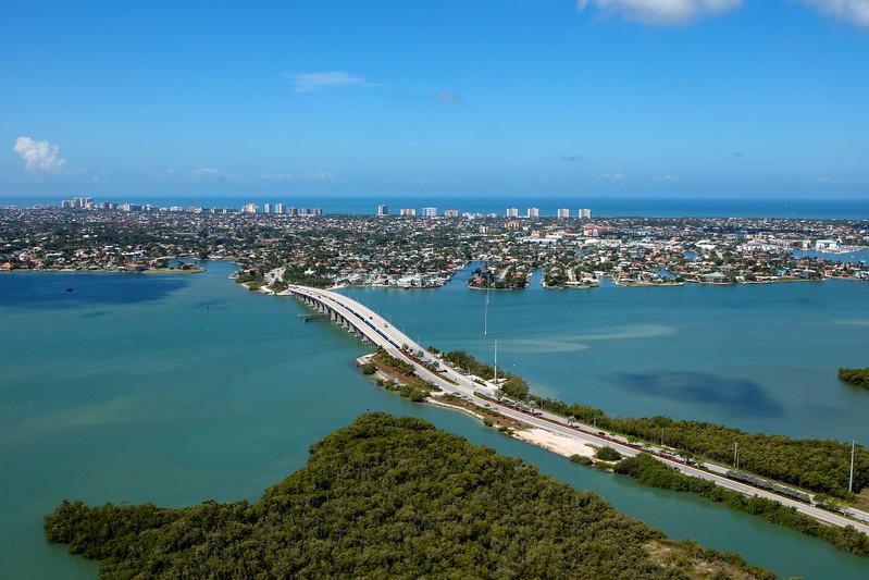 Marco Island Bridge Aerial 1