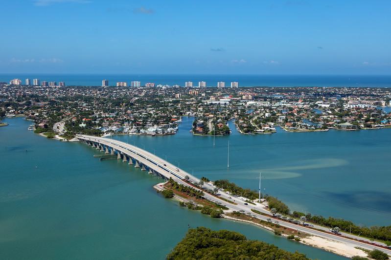 Marco Island Bridge Aerial 2
