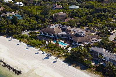 Hideaway Beach Clubhouse Aerial