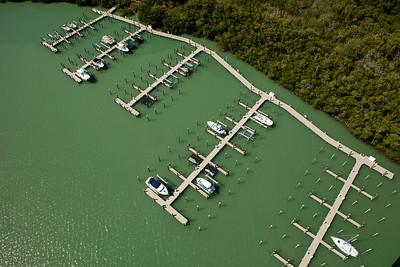 Key Marco Docks Aerial 3