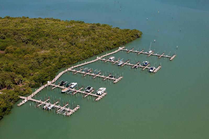 Key Marco Docks Aerial 2