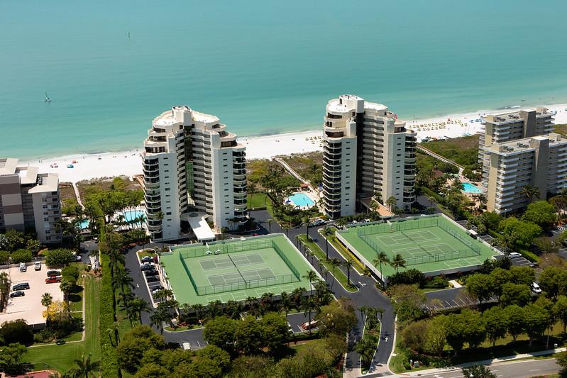 Sandcastle I & II Aerial