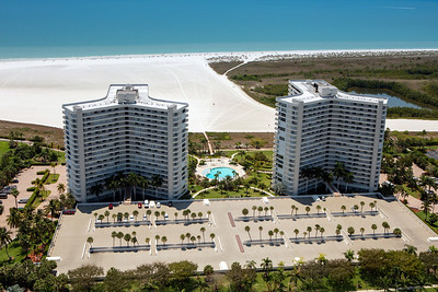 South Seas Tower 1 & 2 Aerial