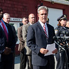 Worcester County DA Joseph Early, along with other investigators, held a 4 p.m. press conference to update the media in the ongoing Vanessa Marcotte murder case. Early confirmed that Marcotte's assailant was a male, and may have cuts, scrapes or bruises from a possible struggle with Marcotte. SENTINEL & ENTERPRISE  / Ashley Green