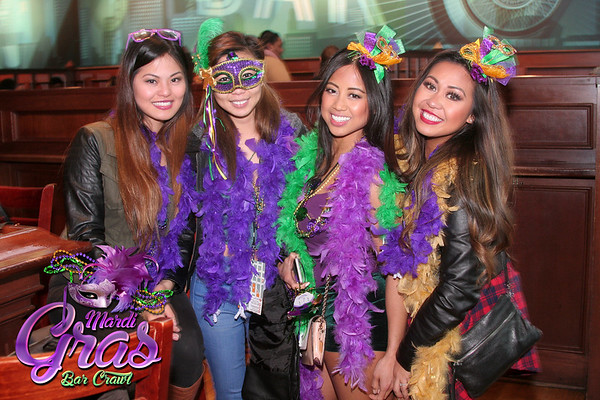 Mardi Gras Bar Crawl