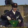 Photo by Mike Silva - scanned 02/17/01 - A Krewe of Centaur member prepares to throw the crowd a pair of Mardi Gras panties as the parade travels down Airline Drive in Bossier City.