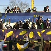 Photo by Mike Silva - A float in the Krewe of Centaur parade.