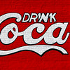 Drink Coca Mural Young Brothers' Pharmacy Cartersville GA_1999
