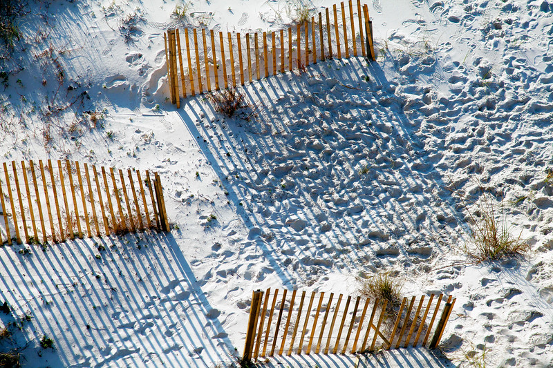Fences and Shadows Gulf Shores AL_2259
