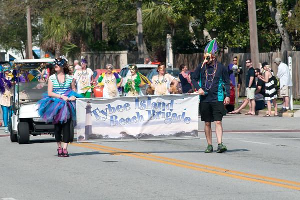 Mardi Gras Tybee Island  Georgia - 2017