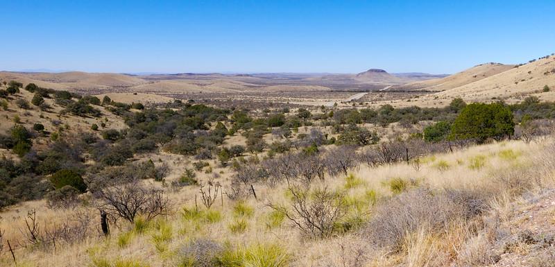 Okruh Davis Mountains, TX