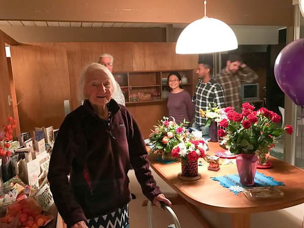 16-12-30 Margaret's Birthday Dinner