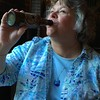 Margie with Kentucky Bourbon Barrel Beer - June 5, 2015 in Cincinnati, OH