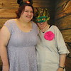 Photo Booth Fun with Nicole and Aunt Lou at Allison's wedding - July 7, 2017 -