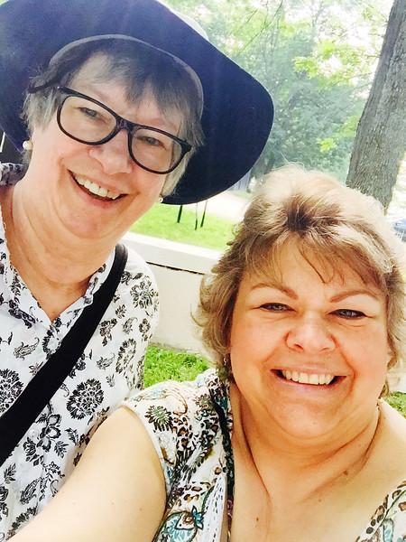 Lucy and Margie in Cincinnati - June 6, 2015