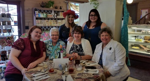 Mother's Day Tea at Clementine's in North Olmsted, OH - May 14, 2017