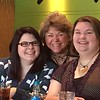 left to right:  Samantha, Margie, Nicole - Benihana's in Columbus - February 18, 2016