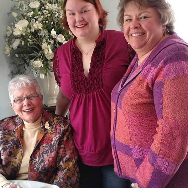 Nicole's 30th Birthday celebration at Miss Hickory's Tea Room - February 18, 2017