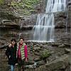 Mommy and Maria at Tiffany Falls 2014