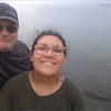 Daddy and Maria at Sunset Beach 2018