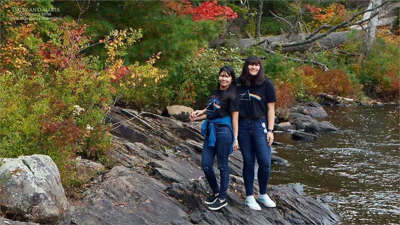 Daisy and Maria in Algonquin 2020