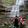 Daisy and Maria at Tiffany Falls 2014