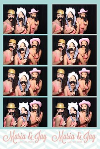 Maria & Jay Wedding (Stand-Up Photo Booth)