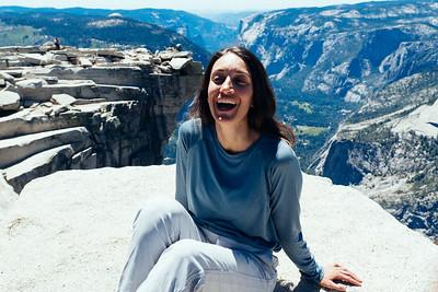 Maria Portait Half Dome Yosemite California