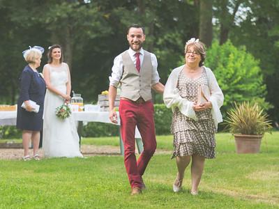 Mariage de Lucie et Thomas, cérémonie d'engagement - Domaine de Navas, 25 juin 2016  Photo par Light eX Machina