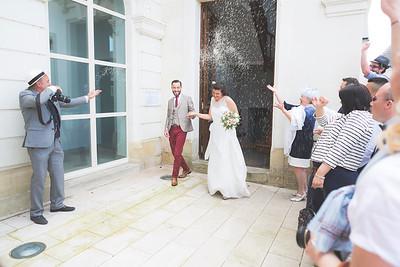 Mariage de Lucie et Thomas - Mairie, 25 juin 2016  Photo par Light eX Machina