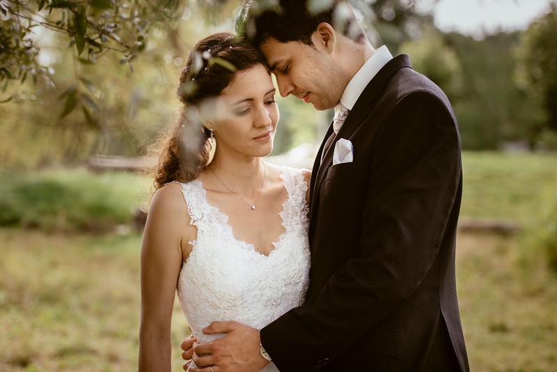 Mariage au bord du lac de Gruyère à Morlon