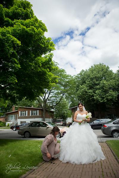 Mariage d'Amélie et Marc à Montréal et Repentigny au Québec