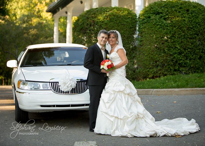 Mariage de Carole et Daniel au mont Sutton dans les Laurentides au Québec