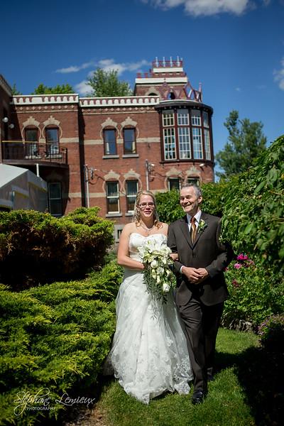 Mariage de Christiane et Jean-Pierre sur la rive-sud de Montréal au Québec
