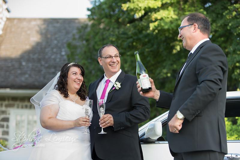 Mariage de Danielle et François à Joliette dans Lanaudière au Québec