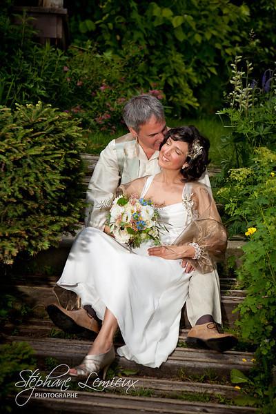 Collection photos de mariage joie de Stéphane Lemieux photographe