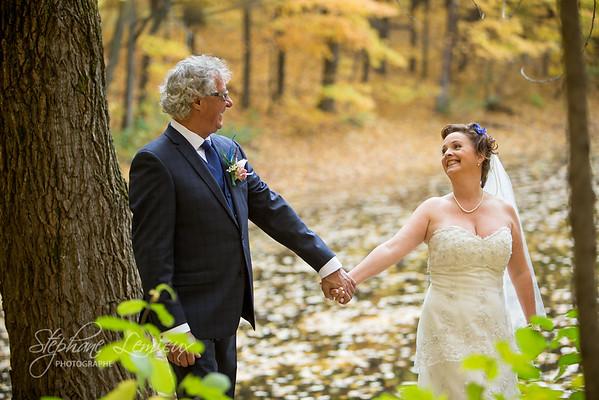 Mariage de Josée-Élise et Claude dans les Laurentides au Québec