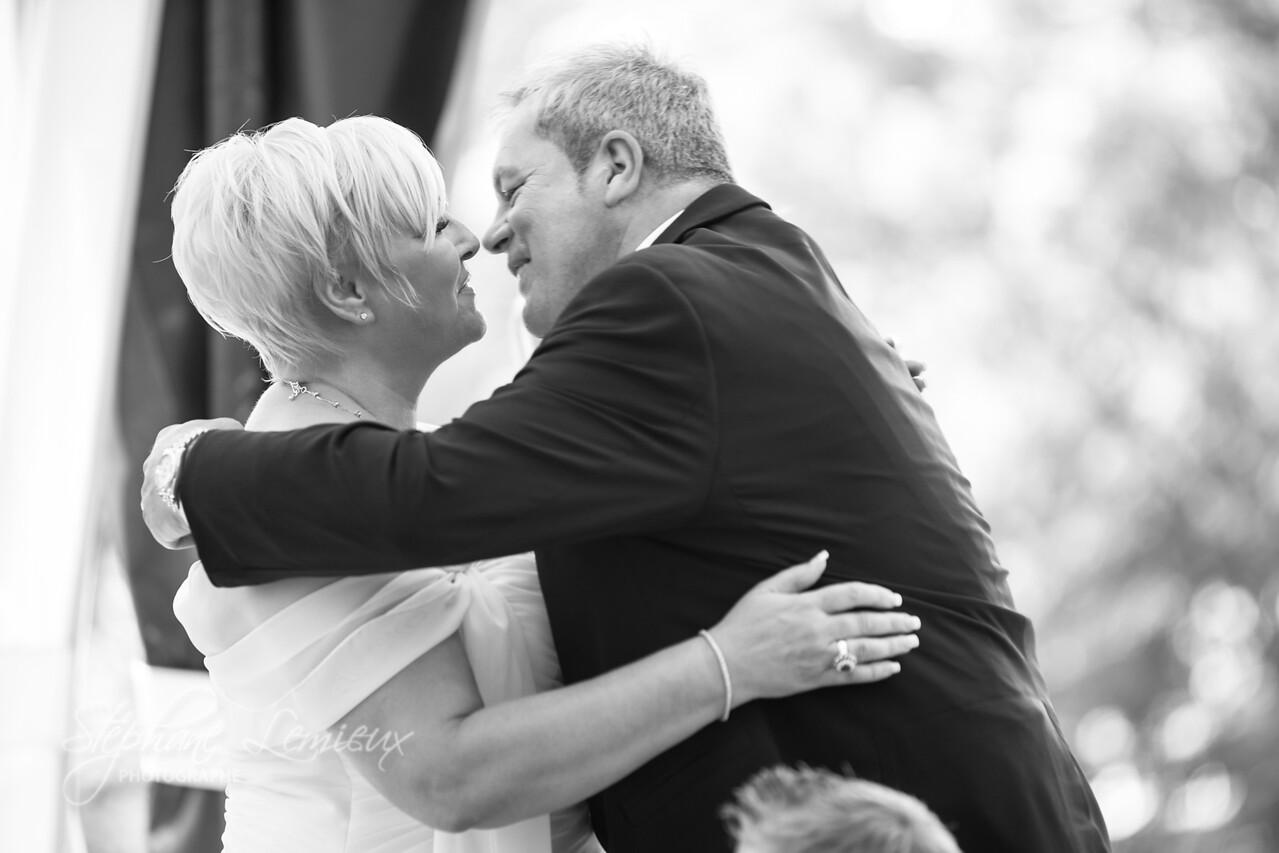 Mariage de Martine et Yvon au manoir Rouville-Cambell sur la rivière Richelieu au Québec