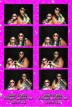 Maria's Birthday Party 10-1-16