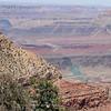 The Colorado River winds through Grand Canyon National Park