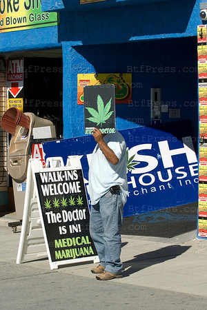 You need to see a doctor and pay between $60.00 to $80.00 in California to have a card and you can buy legally the Marijuana you want. On November 02,2010,California rejects to legalize marijuana for recreation use. Venice,California on November 02,2010.