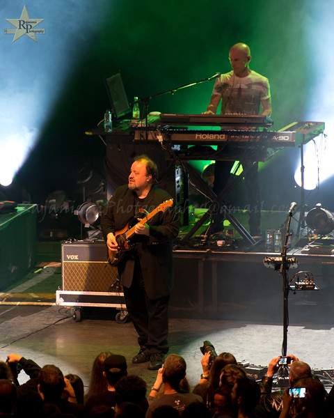 Steve Rothery and Mark Kelly