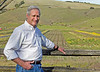 Robert Berner, Executive Director of Marin Agricultural Land Trust, on the Dolcini Ranch in West Marin, Calif. on Thursday, February 9, 2012.Berner is retiring from his position at MALT after 27 years of service.(Special to the IJ/Jocelyn Knight)