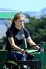 Marissa Thornton drives a tractor at her family ranch in Tomales, Calif. on Thursday, August 23, 2012.(Special to the IJ/Jocelyn Knight)