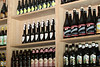 The entire south wall of Mill Valley Beerworks in Mill Valley, CA, is full of many different lagers. pilsners and other exotic beers from around the world.(Special to the IJ/Jocelyn Knight)