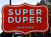 Super Duper signs are hand painted by artists at New Bohemia in San Francisco for the new burger restaurant on Miller Avenue in Mill Valley, Calif. on Friday, January 6, 2012.(Special to the IJ/Jocelyn Knight)