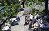 The east patio  area of Terrapin Crossroads in San Rafael, Calif. May 5, 2012.(Special to the IJ/Jocelyn Knight)