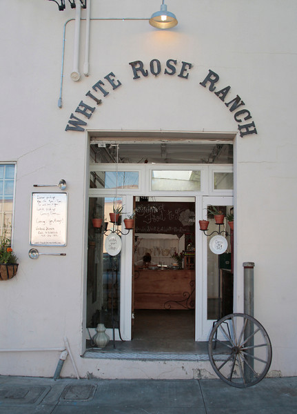 The entrance to The White Rose Ranch in Novato, Calif. on Thursday, August 9, 2012.(Special to the IJ/Jocelyn Knight)