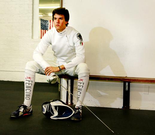 Hugo De Bernardo Fencing